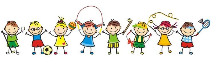 111rozbawione dzieci sport